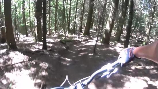Canadian Trail ganze Abfahrt
