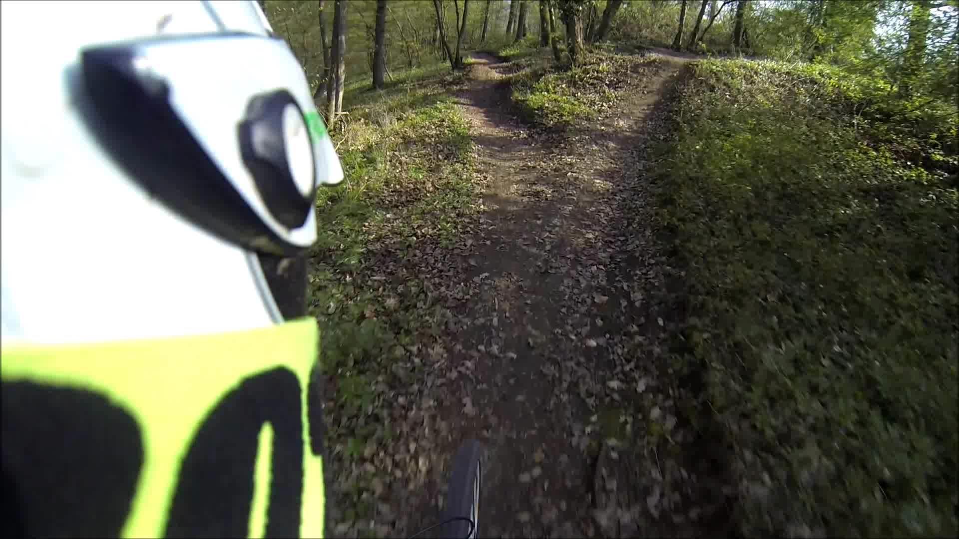 Bikepark-Boppard Raceline!