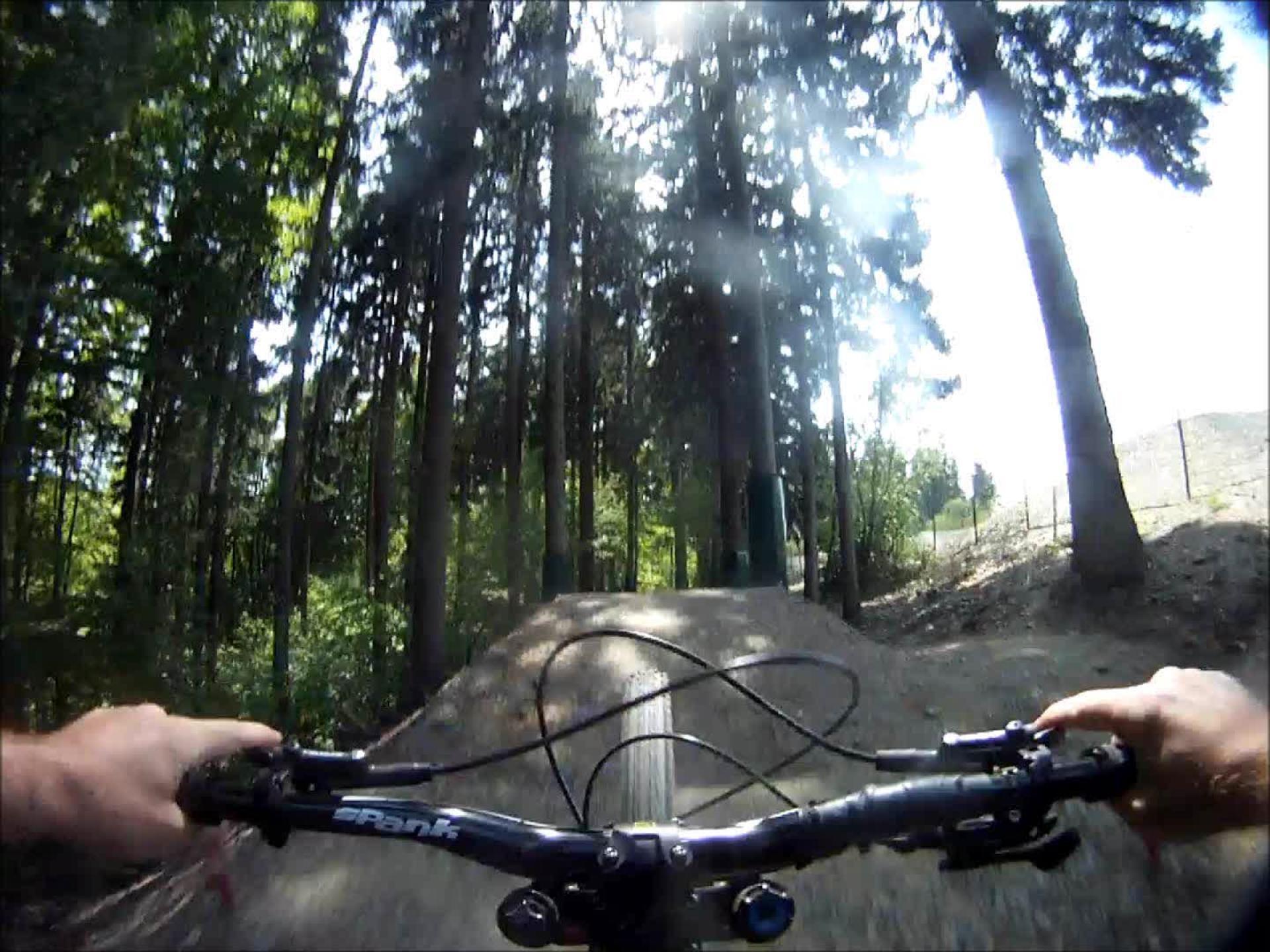 Bikepark Schöneck Jumpline - 16.05.2015